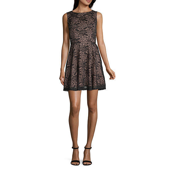 City Triangle Everday Value Fit & Flare Dress