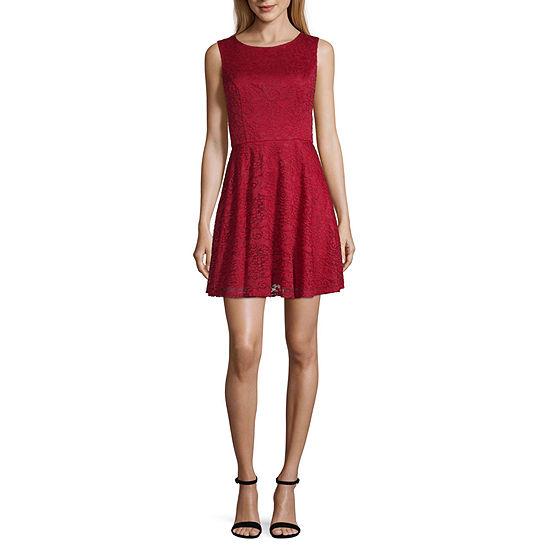 City Triangle-Juniors Everyday Value Dress Sleeveless Dress Set