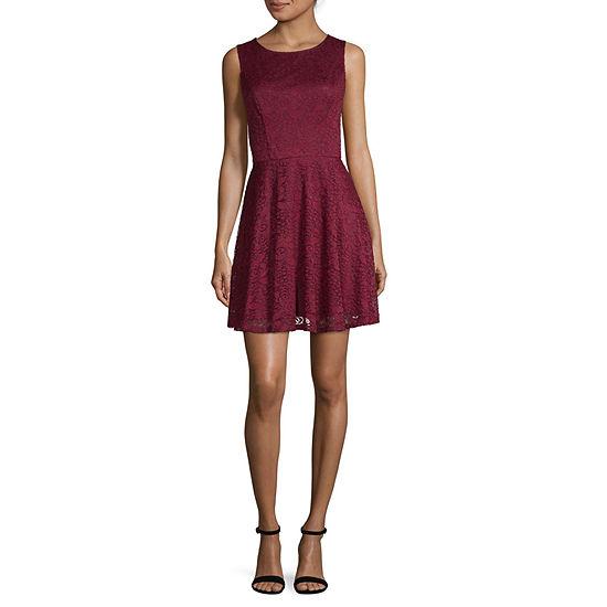 City Triangle Everyday Value Sleeveless Fit & Flare Dress