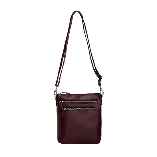 Bueno of California Leather Crossbody Bag