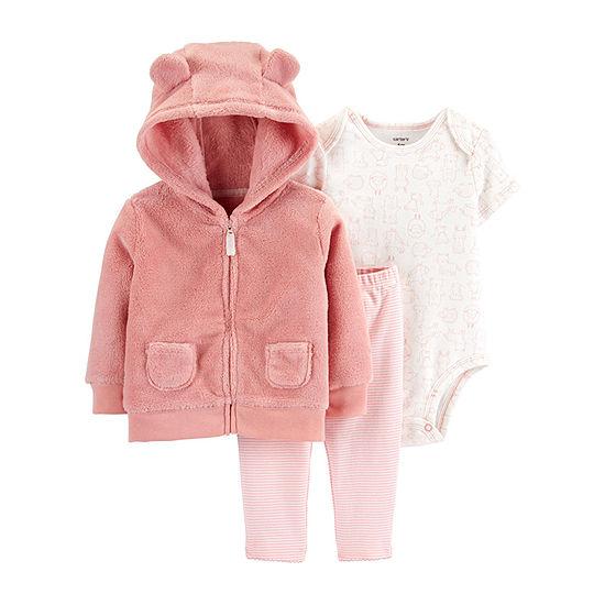 Carter's Baby Girls 3-pc. Bodysuit Set