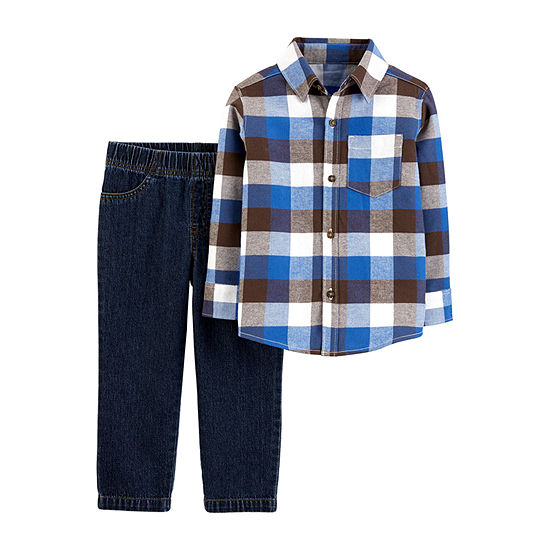 Carter's Boys 2-pc. Pant Set Baby
