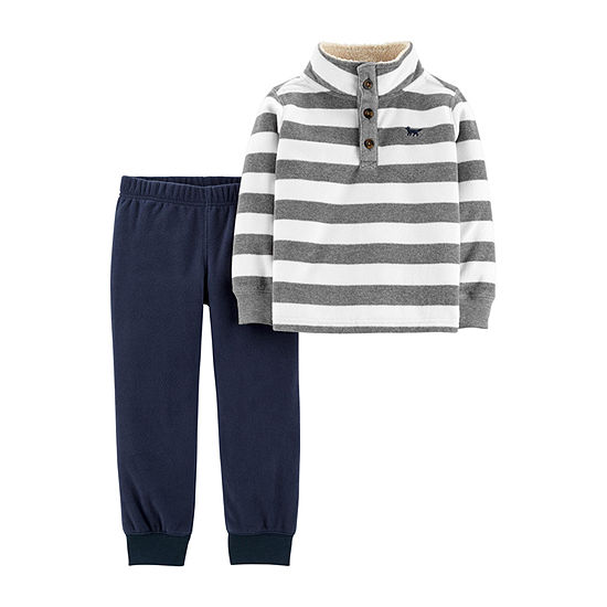 Carter's Boys 2-pc. Striped Pant Set Baby