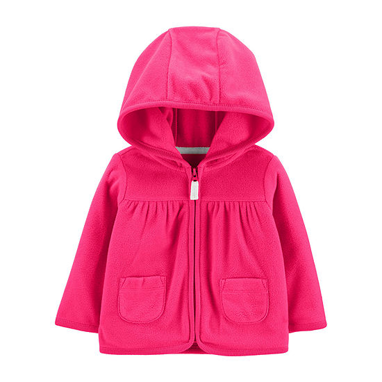 Carter's Girls Hooded Neck Long Sleeve Cardigan Baby