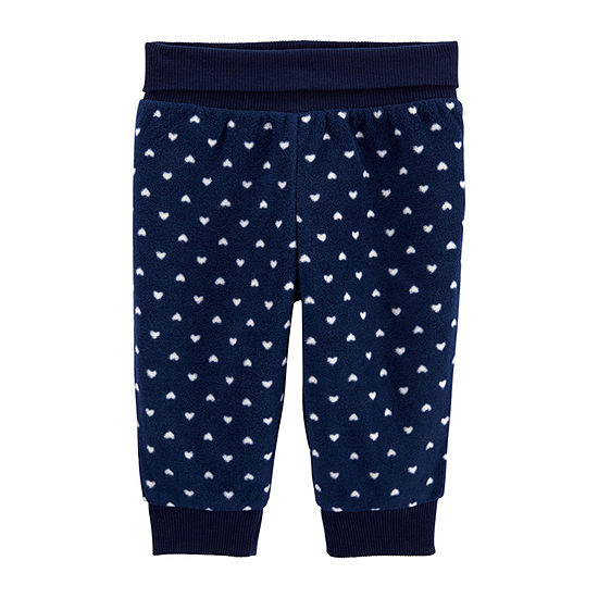 Carter's Girls Cuffed Pull-On Pants - Baby