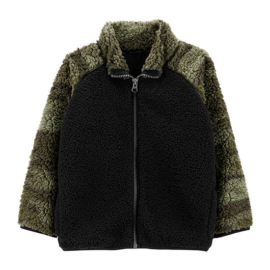 Carter's Boys Sherpa Midweight Jacket-Toddler