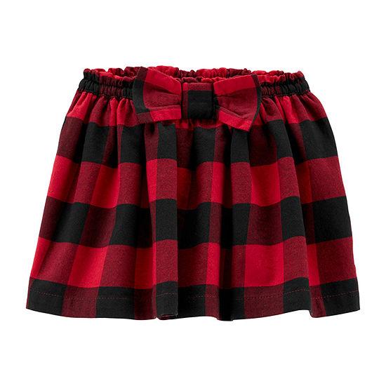 Carter's Girls Short Flared Skirt - Toddler
