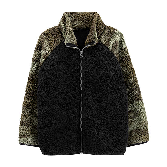 Carter's Boys Sherpa Midweight Jacket Preschool / Big Kid