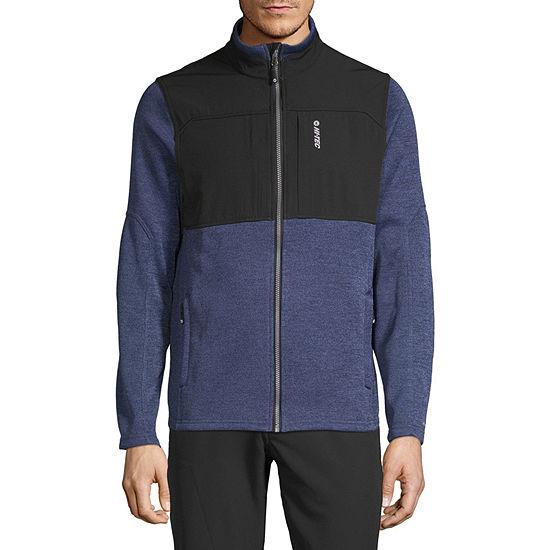 Hi-Tec Sweater Fleece Hybrid Full Zip Lightweight Knit Jacket