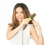 Drybar The Baby Brush Crush Heated Straightening Brush