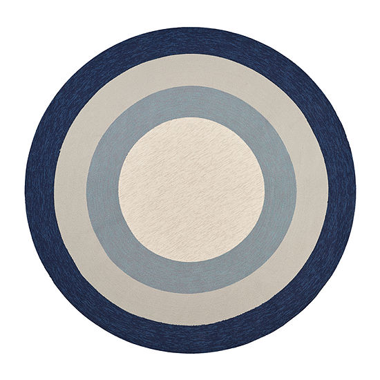 Hampton Highview By Libby Langdon Hooked Round Rug