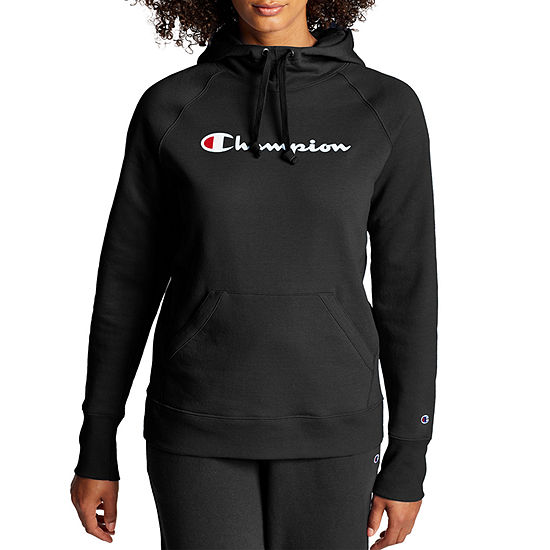 Champion Fleece Po Hoodie Gc Womens Hooded Neck Long Sleeve T-Shirt