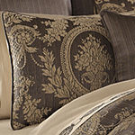 Five Queens Court Neapolitan 4-pc. Damask + Scroll Heavyweight Comforter Set