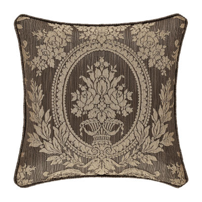 Five Queens Court Neapolitan Square Throw Pillow