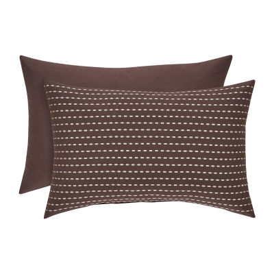 Queen Street Oakville Rectangular Throw Pillow
