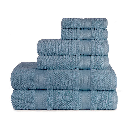 American Dawn Grace 6 Pc 6-pc. Bath Towel Set