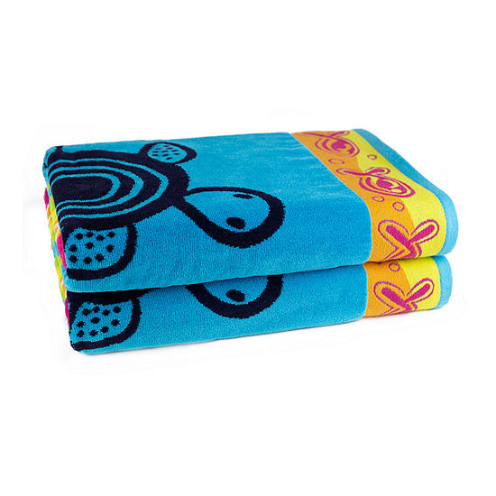 American Dawn Sea Life 2-pc. Bath Towel Set