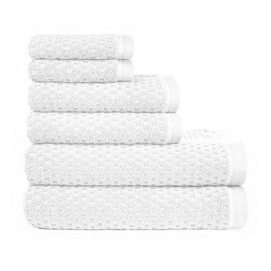 American Dawn Riley 6 Pc 6-pc. Bath Towel Set