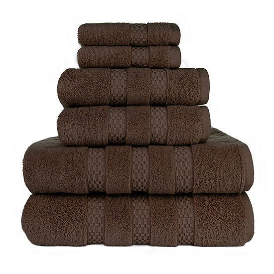 American Dawn Estella Lynx 6-pc. Bath Towel Set