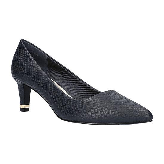 Easy Street Womens Pointed Pumps Spike Heel