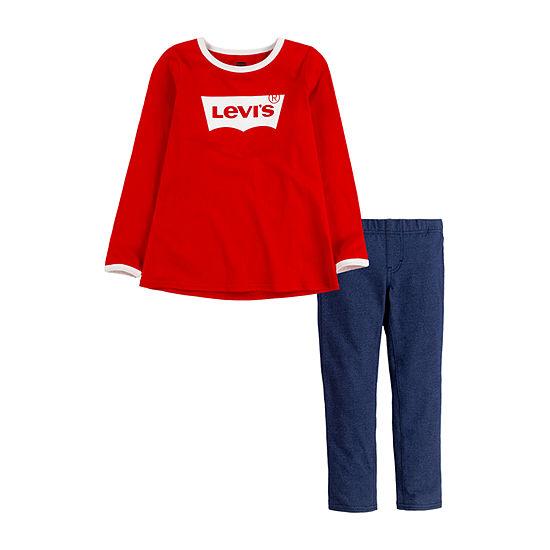 Levi's Toddler Girls 2-pc. Legging Set