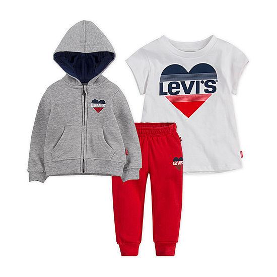 Levi's Toddler Girls 3-pc. Legging Set