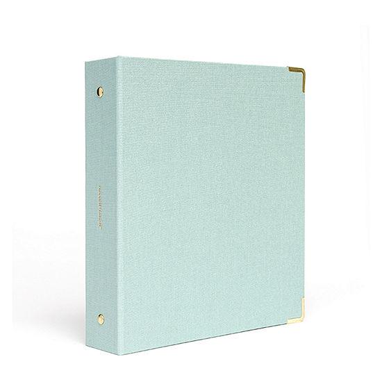 Russell + Hazel Dew Bookcloth Mini 3 Ring Binder