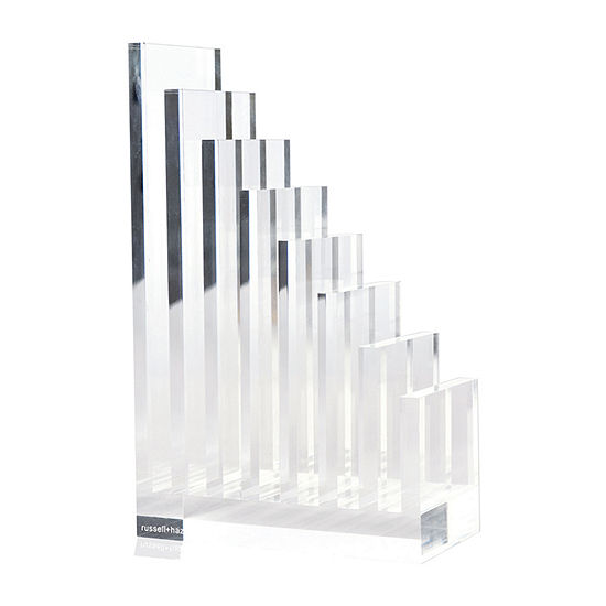 Russell + Hazel Acrylic Collator Bookend Desk Supply Sets