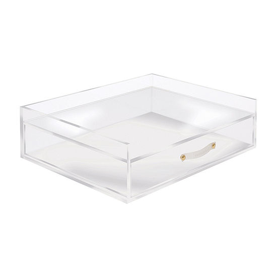 Russell + Hazel Acrylic Inbox And Drawer Desktop Organizer