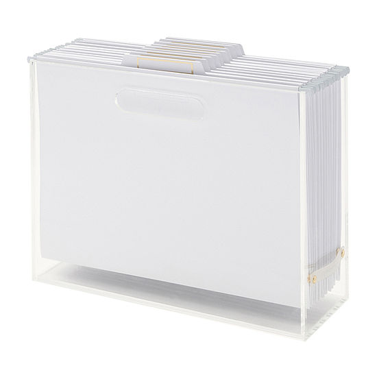 Russell + Hazel File Box Bundle 3 Pc .Desktop Organizer