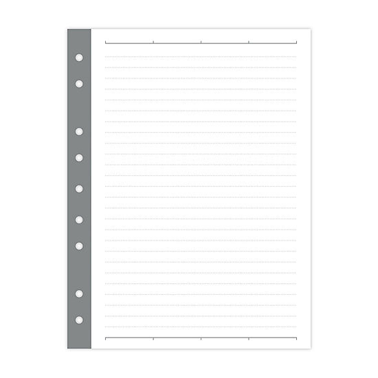 Russell + Hazel Mini Binder Smartdate Filler Paper