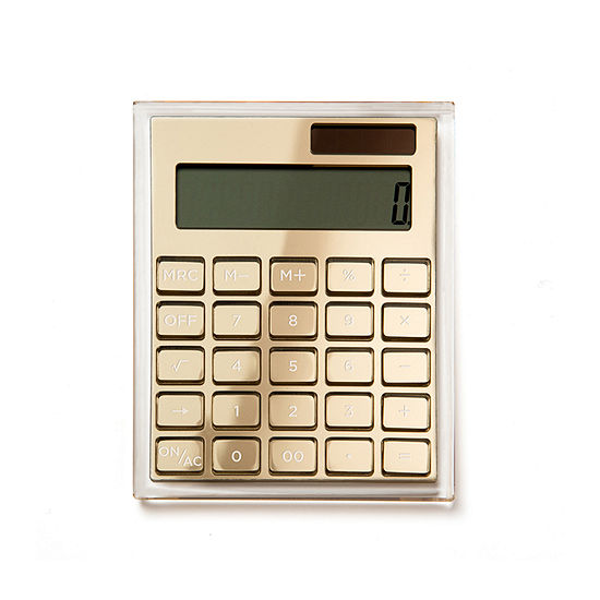Russell + Hazel Acrylic Calculator