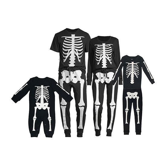 Halloween Skeleton Family Pajamas