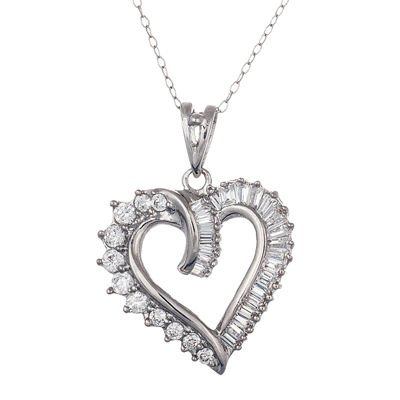 Sparkle Allure™ Cubic Zirconia Heart Pendant