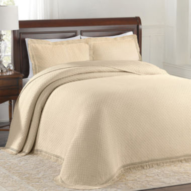 jcpenney.com | Lamont Home® Woven Jacquard Bedspread & Accessories