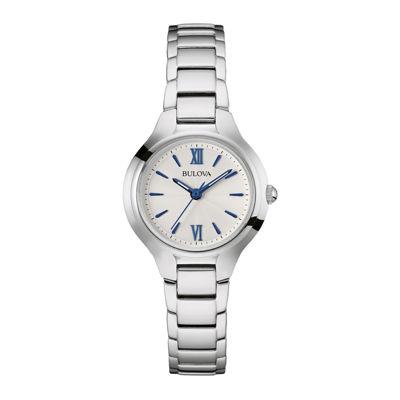 Bulova® Classic Womens Stainless Steel Bracelet Watch 96L215