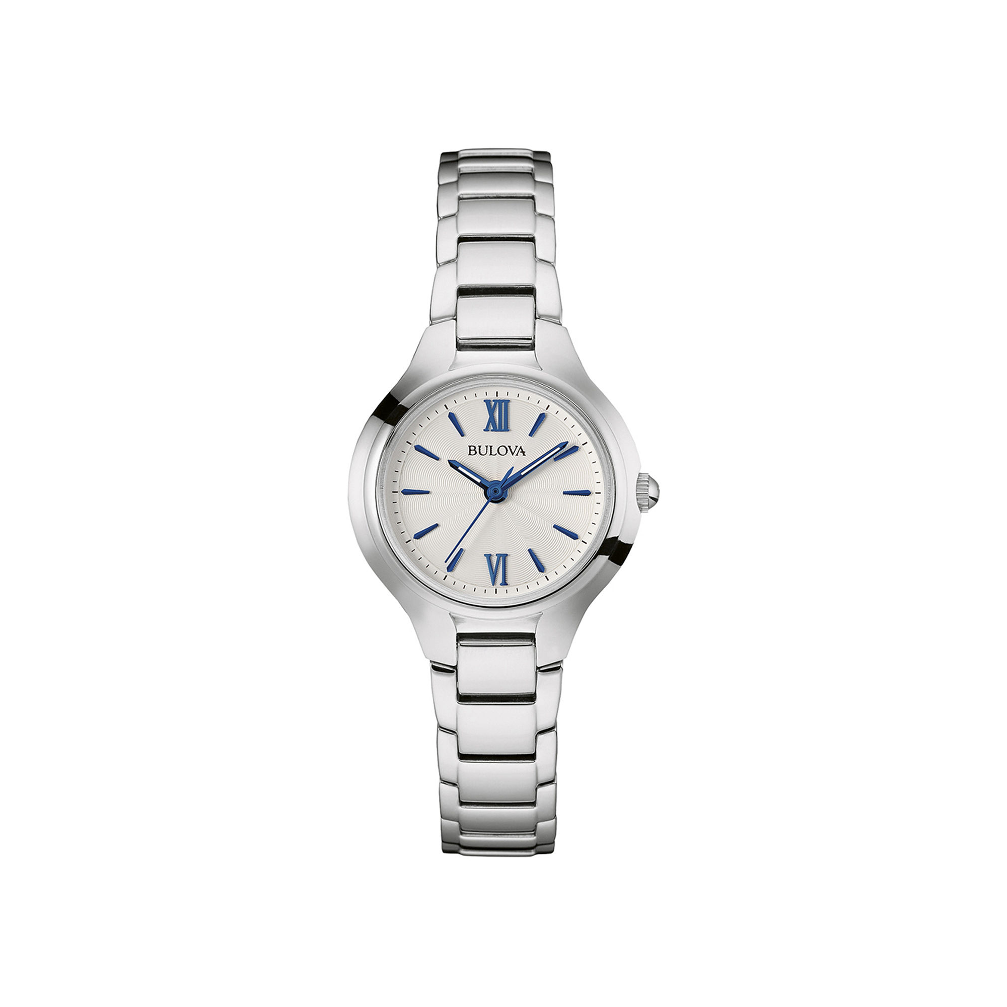 Bulova Classic Womens Stainless Steel Bracelet Watch 96L215