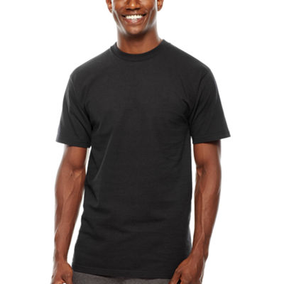 Stafford® 3-pk. Heavyweight Cotton Crewneck T-Shirts - Big & Tall