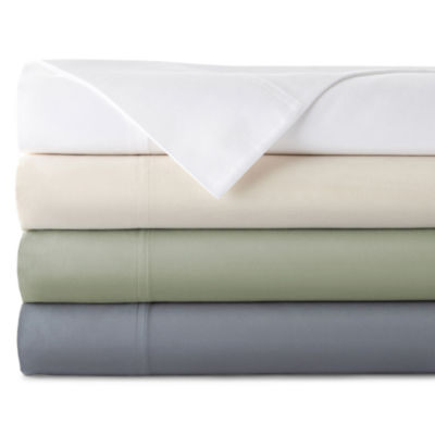 JCPenney Home™ 400tc Hygro® Cotton Sheet Set