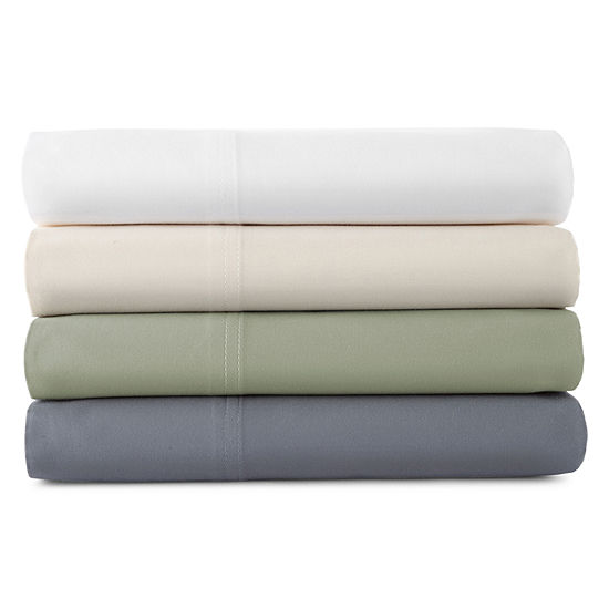JCPenney Home™ 400tc Set of 2 Hygro® Cotton Pillowcases