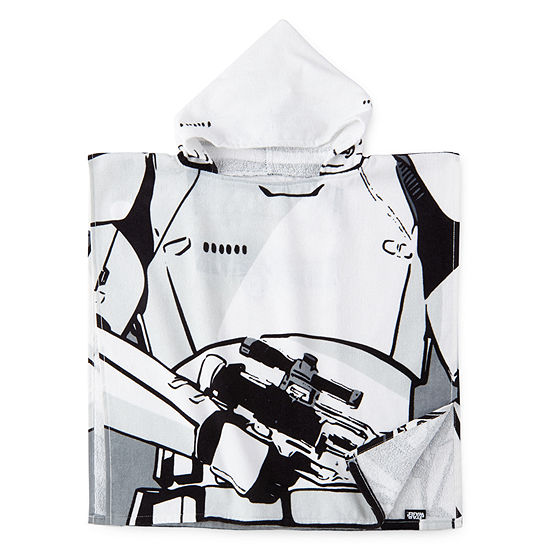 Star Wars Stormtrooper Hooded Poncho Towel