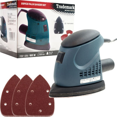 Stalwart™ 28-pc. Mouse Sander Set