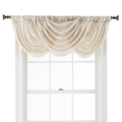 Royal Velvet 174 Britton Tab Top Waterfall Valance