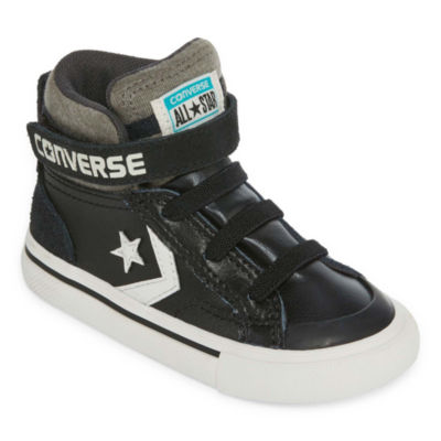 Converse Pro Blaze Strap Leather And  Suede Boys Sneakers - Toddler