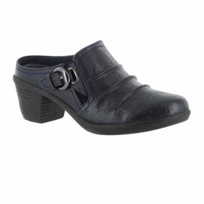 Easy Street Womens Calm Mules Slip-on Closed Toe