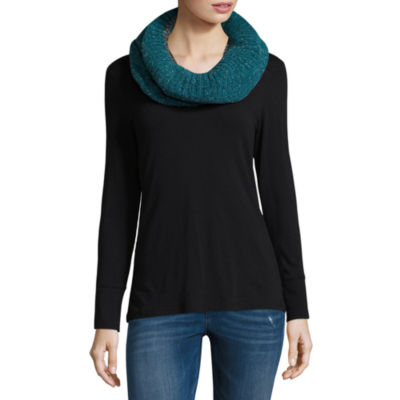 Mixit Chenille Shine Infinity Cold Weather Scarf