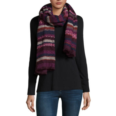 Mixit Stripe Oblong Cold Weather Scarf