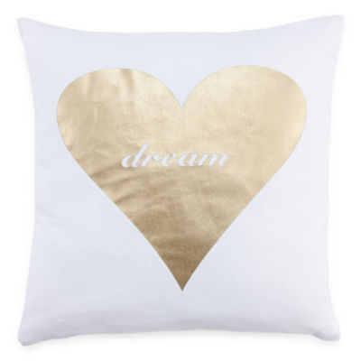 Mixit Heart Throw Pillow