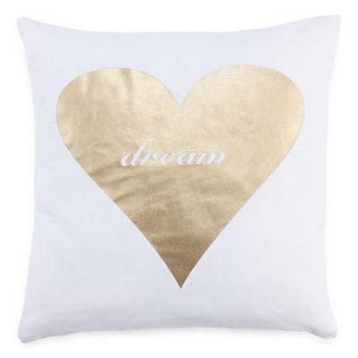 Mixit Heart Throw Pillow