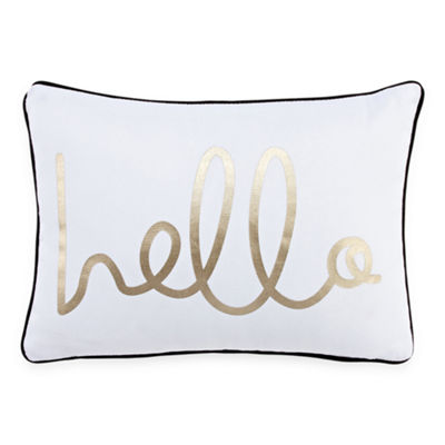 Mixit Hello Throw Pillow